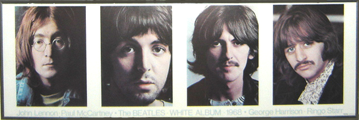 beatles white album. TTHE WHITE ALBUM LISTENING